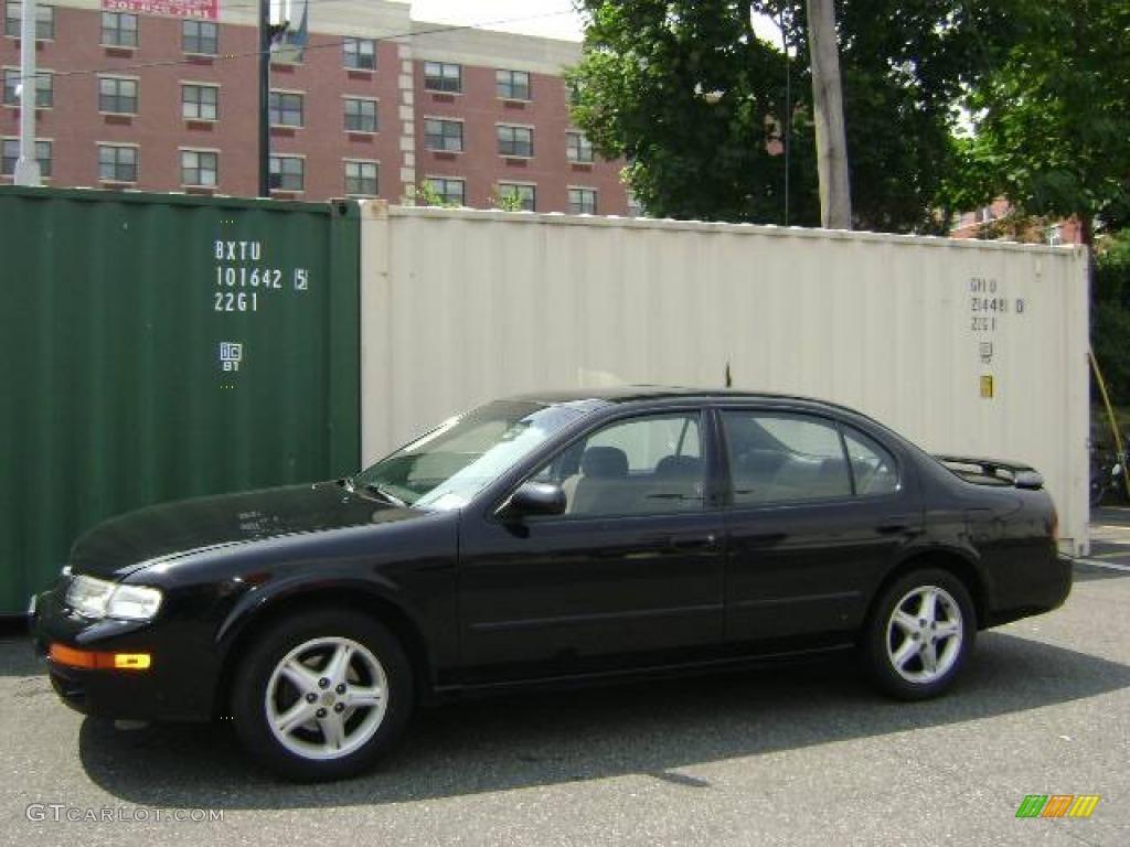 1997 super black nissan maxima gxe #14366337   gtcarlot - car
