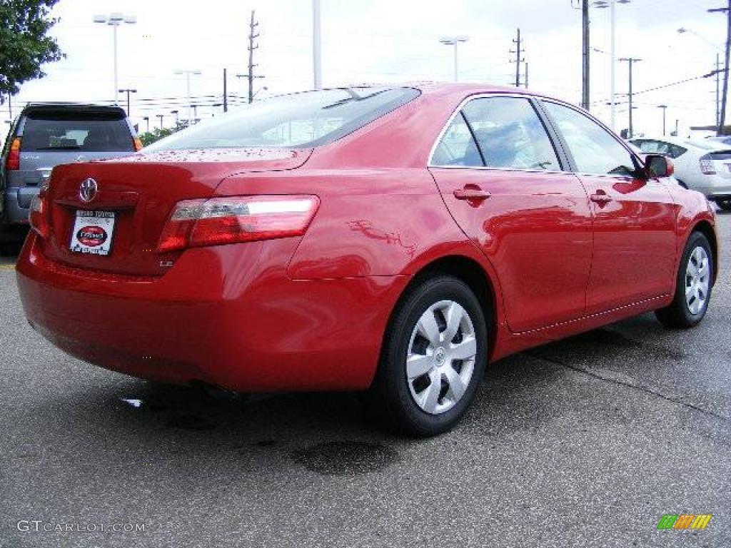 2007 Barcelona Red Metallic Toyota Camry Le 14418460