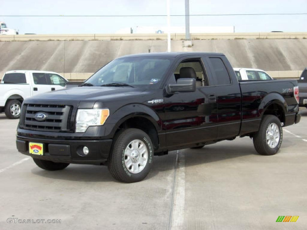 2009 black ford f150 stx supercab 1432943 gtcarlot com car color galleries