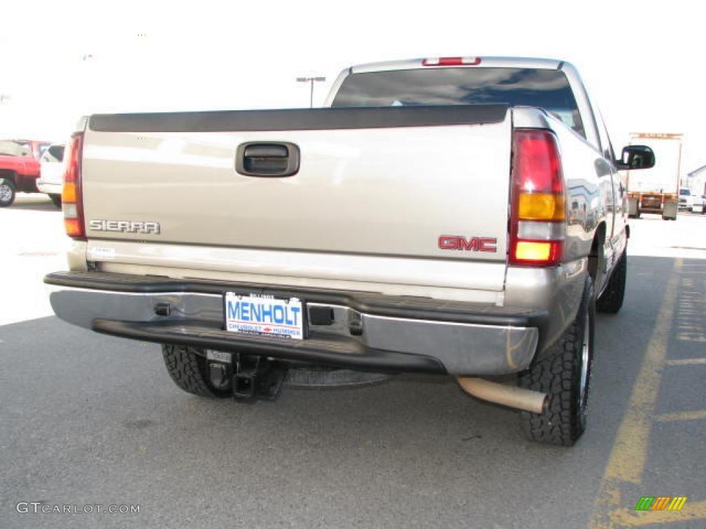 2002 Light Pewter Metallic Chevrolet Silverado 1500 Lt Extended Cab 4x4 14554411 Photo 5