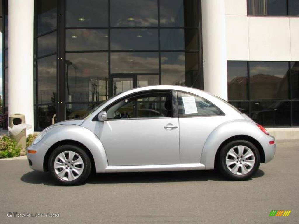 2008 reflex silver volkswagen new beetle s coupe 14554610 car color galleries. Black Bedroom Furniture Sets. Home Design Ideas