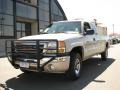 2007 Silver Birch Metallic GMC Sierra 2500HD Classic SLE Extended Cab 4x4  photo #2