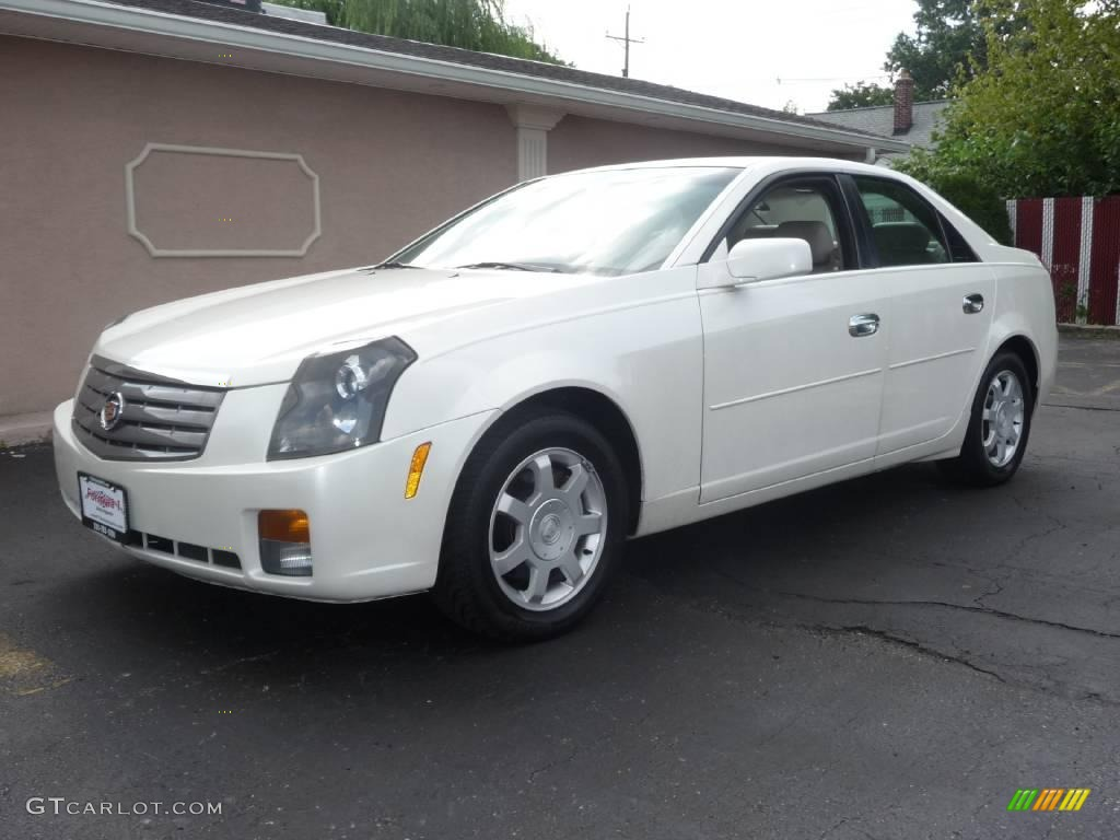 2004 white diamond cadillac cts sedan 14582851 car color galleries. Black Bedroom Furniture Sets. Home Design Ideas