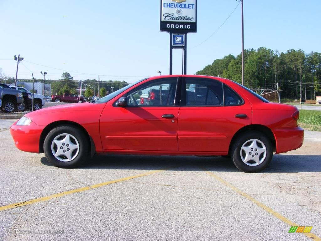 2005 chevrolet cavalier sedan victory red color graphite gray. Cars Review. Best American Auto & Cars Review