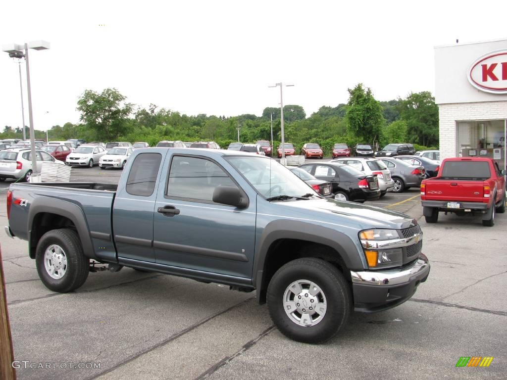2007 blue granite metallic chevrolet colorado lt z71. Black Bedroom Furniture Sets. Home Design Ideas