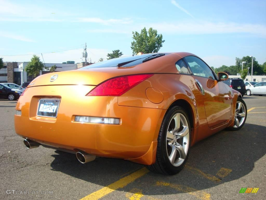 2006 le mans sunset metallic nissan 350z touring coupe. Black Bedroom Furniture Sets. Home Design Ideas