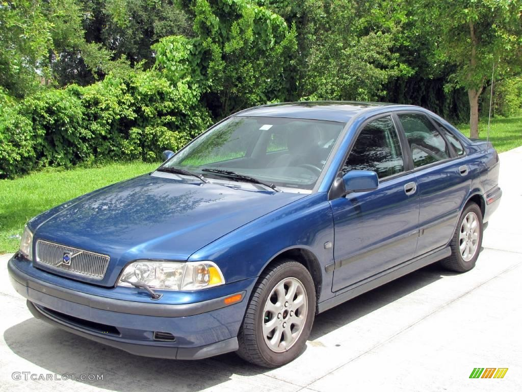 2000 Pacific Blue Metallic Volvo S40 1.9T #14584095 Photo #7 ...