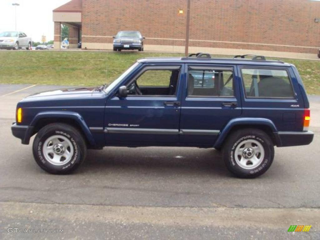2000 jeep cherokee blue 200 interior and exterior images. Black Bedroom Furniture Sets. Home Design Ideas