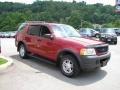 2003 Redfire Metallic Ford Explorer XLS 4x4  photo #5