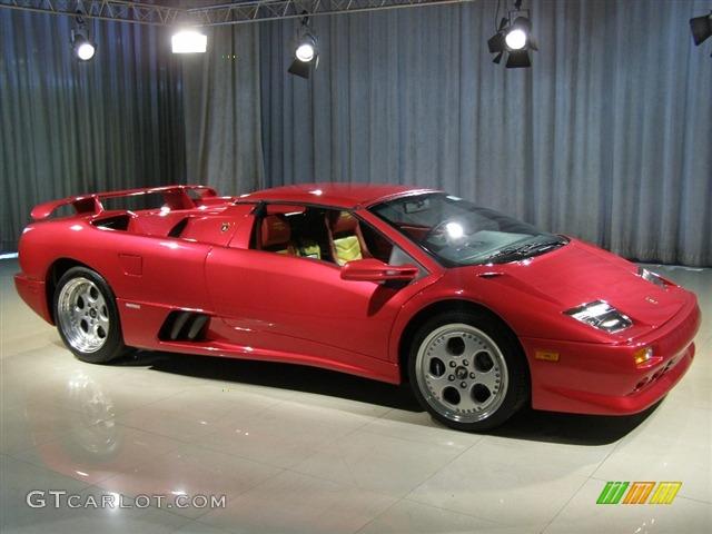 1999 Red Lamborghini Diablo VT Roadster MOMO Limited Edition
