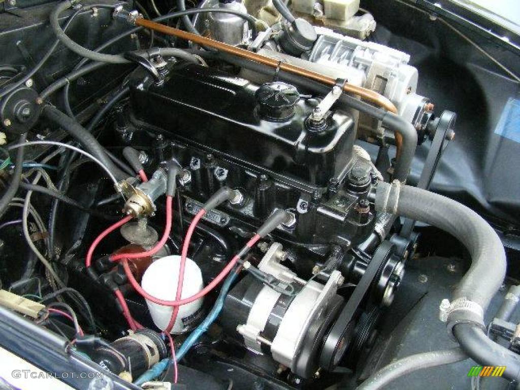 1980 MG MGB Mark III Limited Edition 1.8 Liter OHV 8-Valve 4 Cylinder Engine Photo #14672980 ...