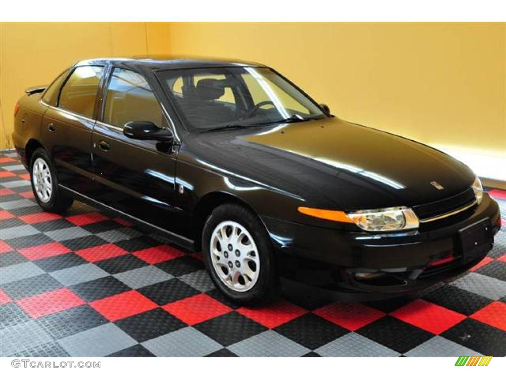 2002 black saturn l series l200 sedan 14650200 car color galleries. Black Bedroom Furniture Sets. Home Design Ideas