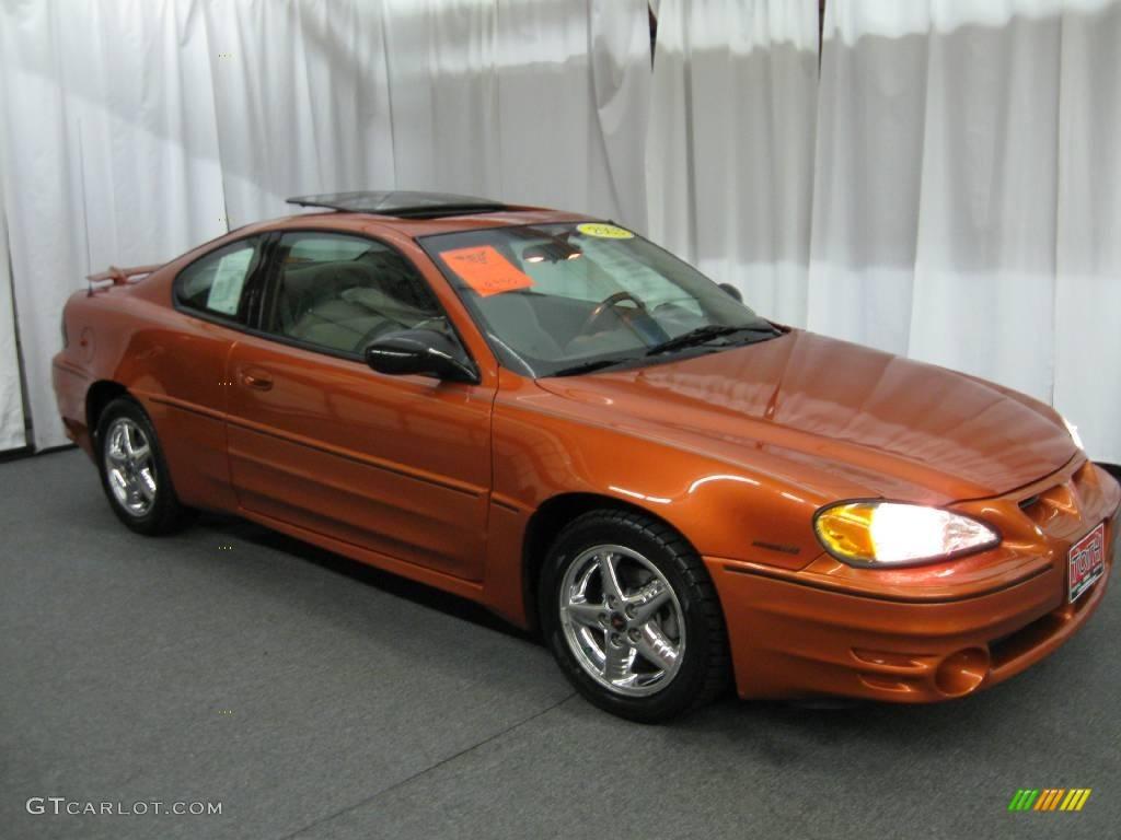 2003 Fusion Orange Metallic Pontiac Grand Am GT Coupe
