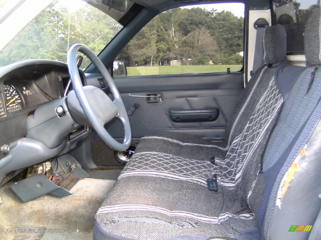 1994 White Toyota Pickup Dx Regular Cab 14646199 Photo 9