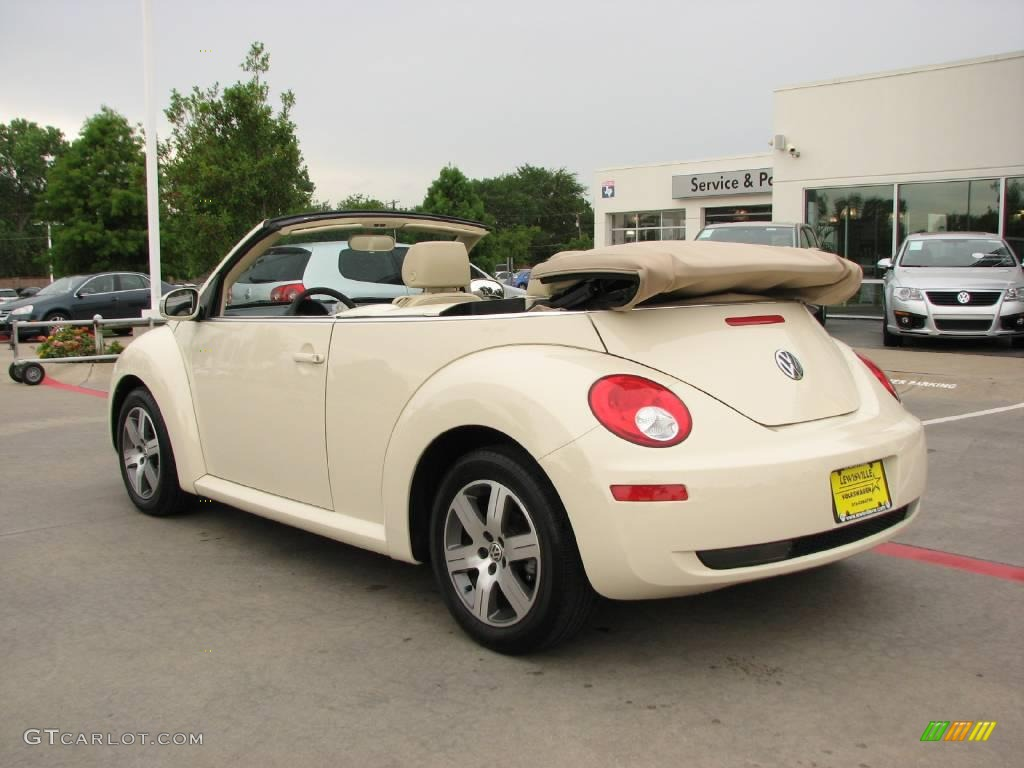 2006 harvest moon beige volkswagen new beetle 2 5 convertible 14648904 photo 3. Black Bedroom Furniture Sets. Home Design Ideas