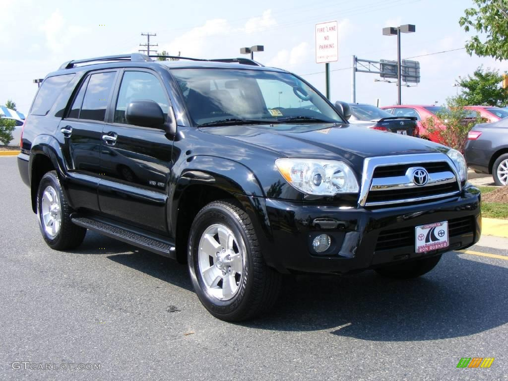 2006 black toyota 4runner sr5 4x4 14647666 photo 2 car color galleries. Black Bedroom Furniture Sets. Home Design Ideas