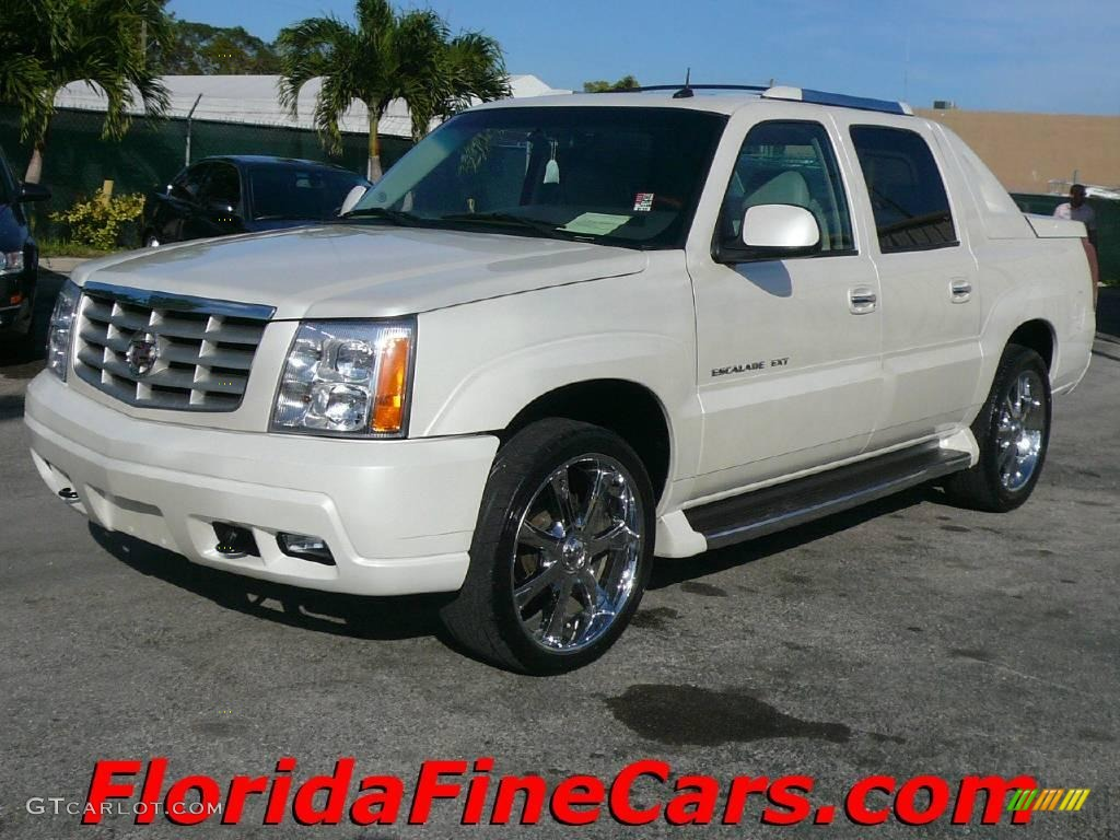 2003 White Diamond Cadillac Escalade Ext Awd 1433252
