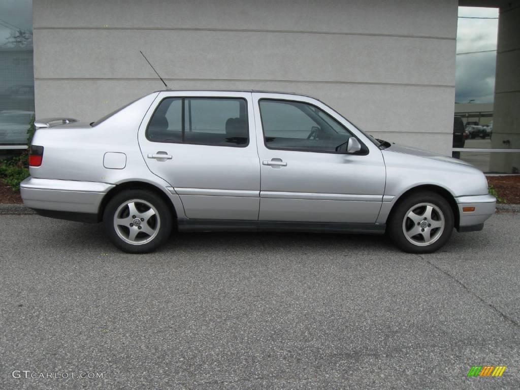 1999 jetta wolfsburg sedan silver arrow metallic black photo 2