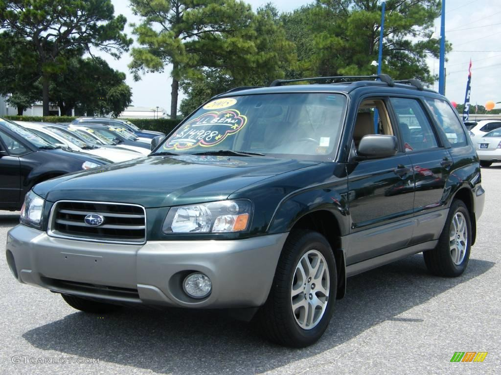 2005 subaru forester 2 5 xs l l bean edition   woodland green pearl