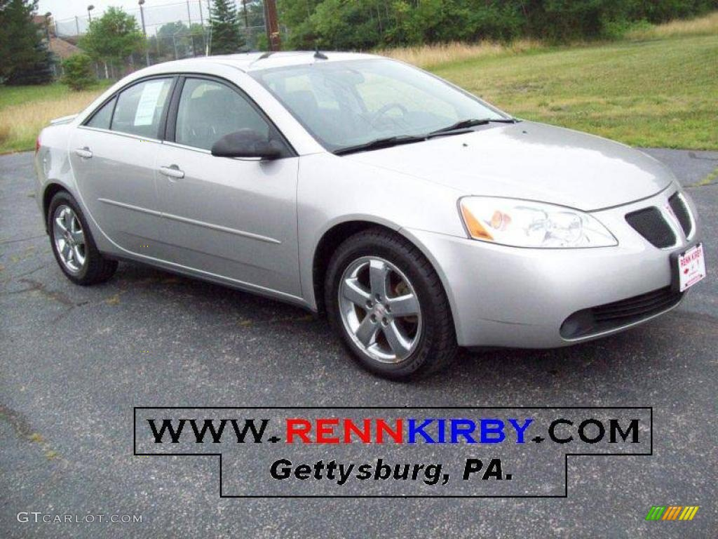 2005 Liquid Silver Metallic Pontiac G6 Gt Sedan 14718493