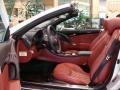 2009 SL 550 Silver Arrow Edition Roadster Red Interior