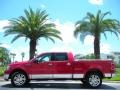 Vivid Red Metallic 2007 Lincoln Mark LT Gallery