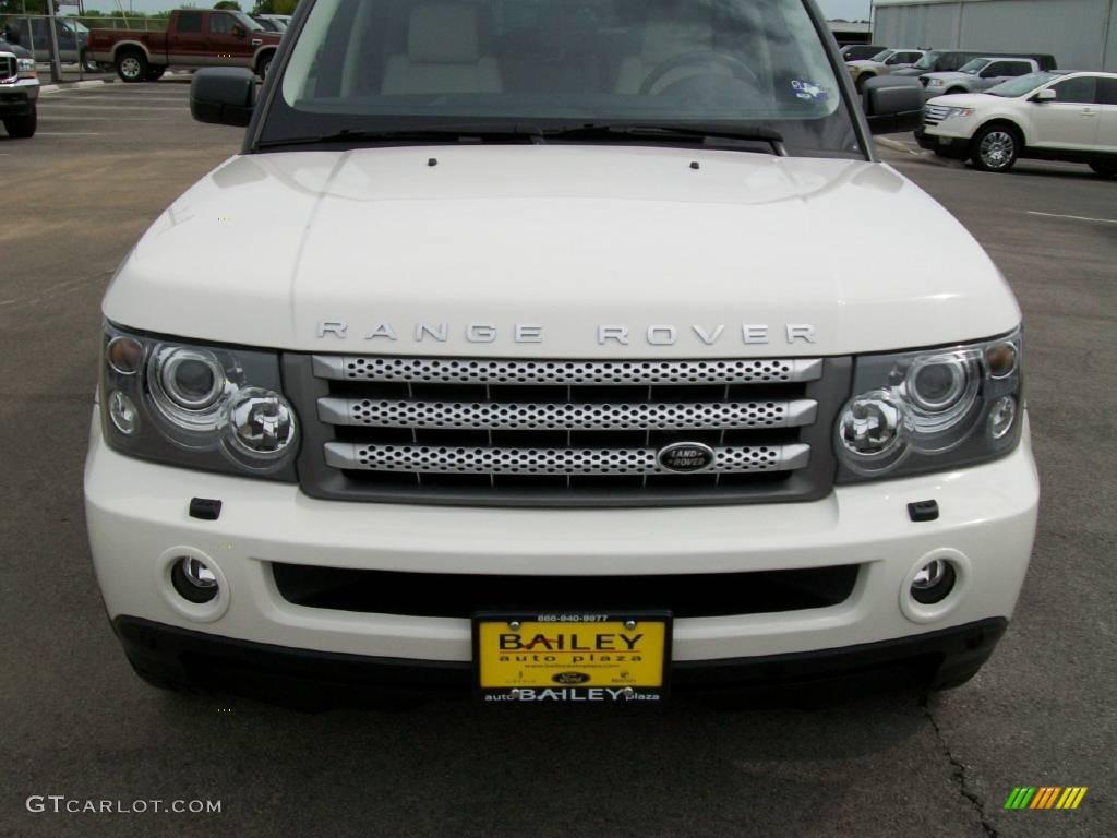 2008 alaska white land rover range rover sport supercharged 14707909 car color. Black Bedroom Furniture Sets. Home Design Ideas