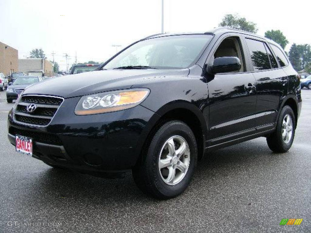 2007 deepwater blue hyundai santa fe gls 14711200 car color galleries. Black Bedroom Furniture Sets. Home Design Ideas
