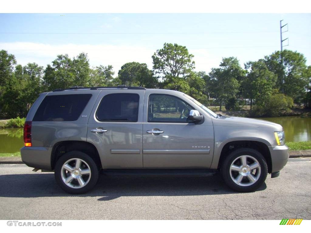 How Much Are Chevy Tahoes tahoe ltz 4x4 graystone metallic color ebony interior 2008 tahoe ...