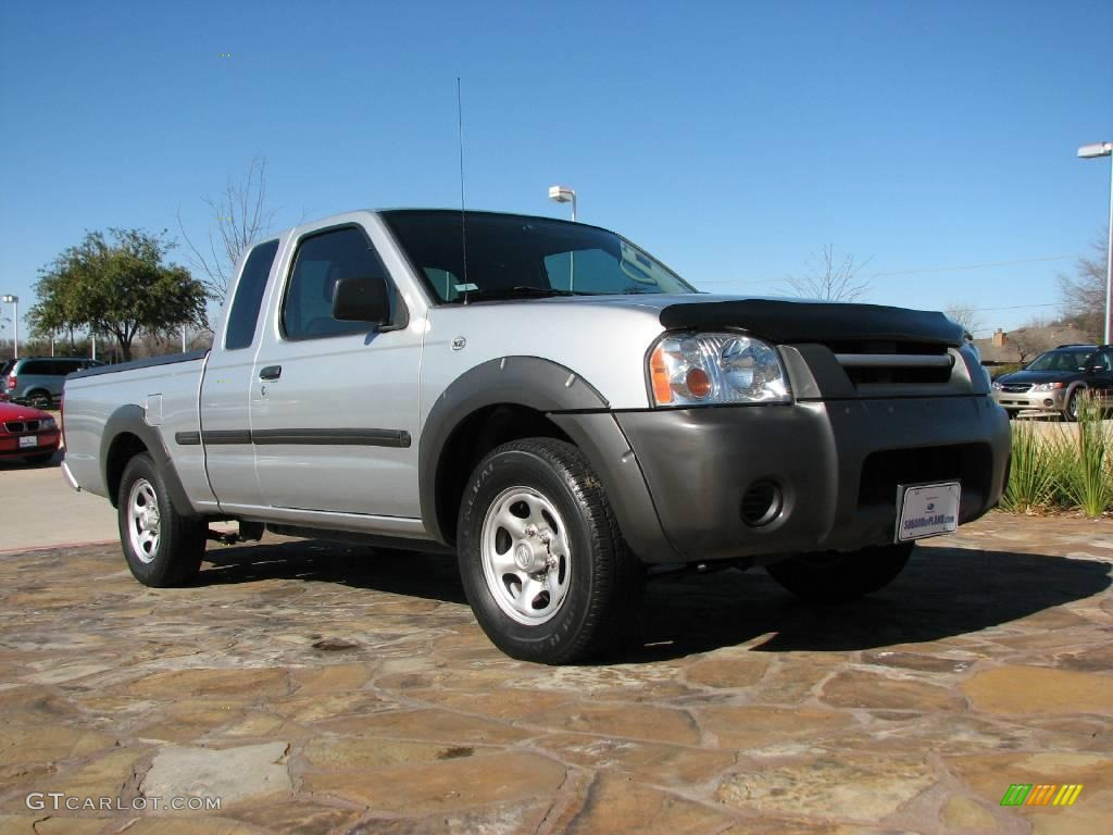 2004 Radiant Silver Metallic Nissan Frontier Xe King Cab 1478877 Car Color