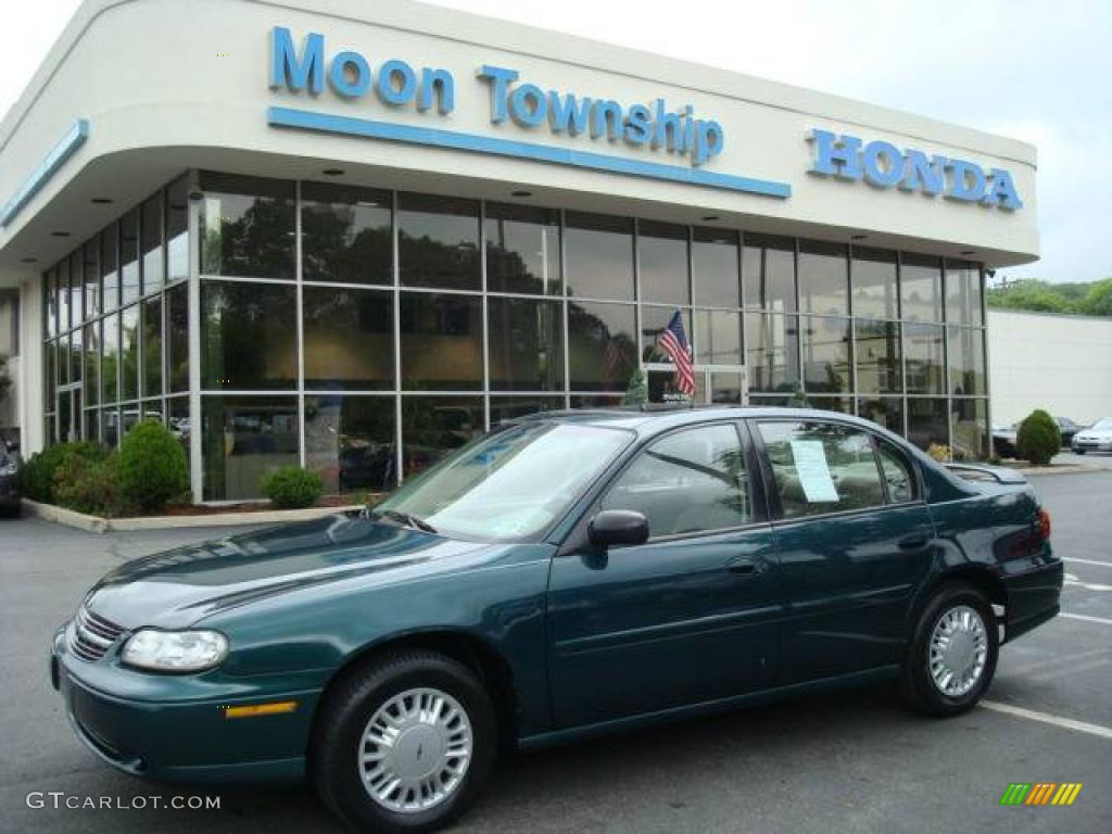 2000 Malibu Sedan Dark Jade Green Metallic Neutral Photo 1