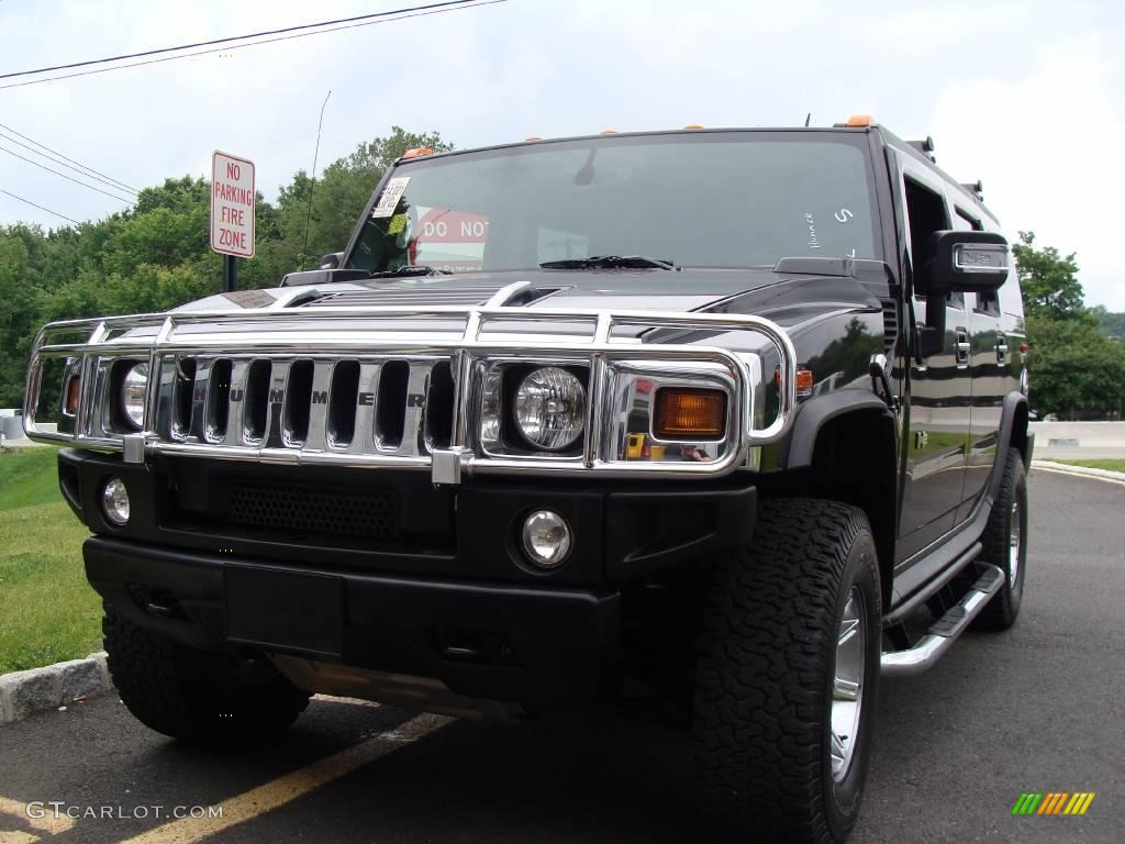 black hummer h2 cars - photo #21