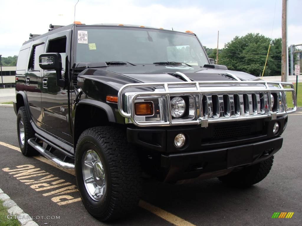 black hummer h2 cars - photo #35