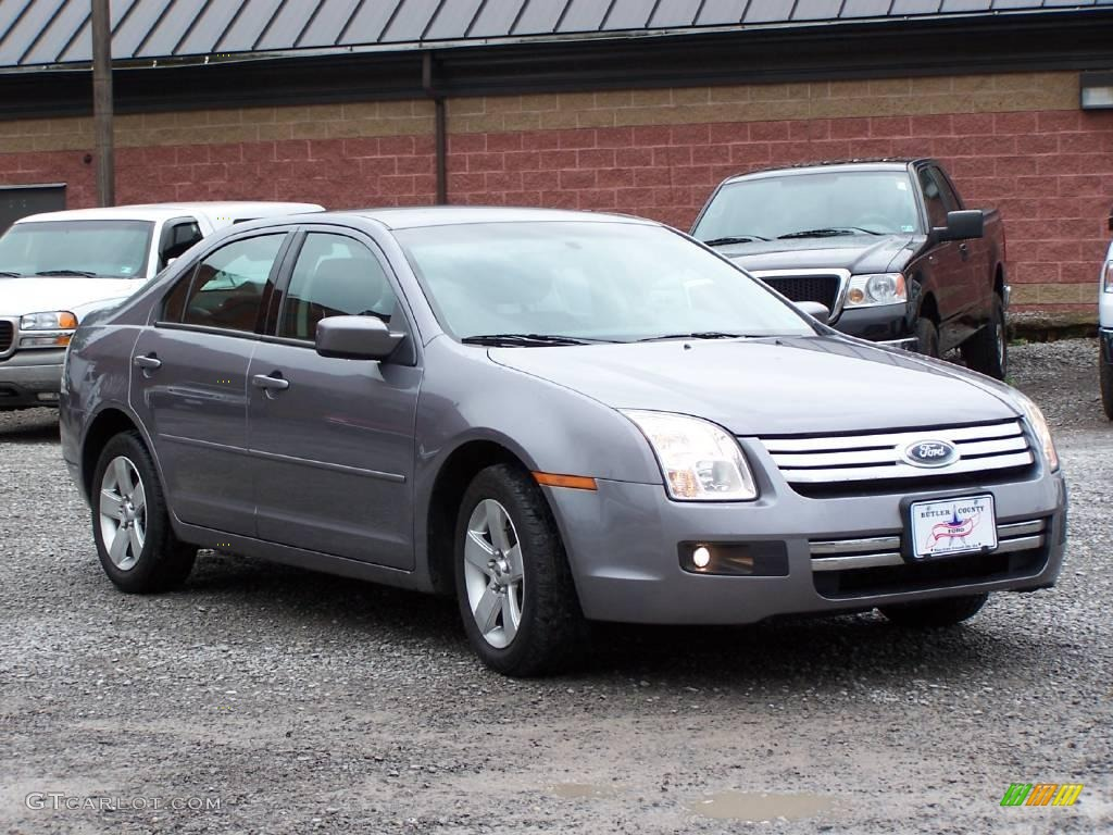Tungsten Grey Metallic Ford Fusion SE GTCarLot - 2006 fusion