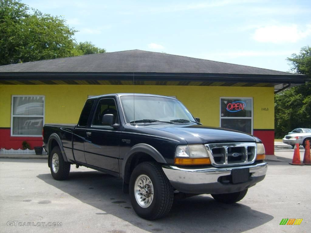 1999 deep wedgewood blue metallic ford ranger xlt extended. Black Bedroom Furniture Sets. Home Design Ideas