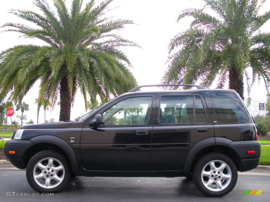 2003 Java Black Metallic Land Rover Freelander SE #1474702 ...