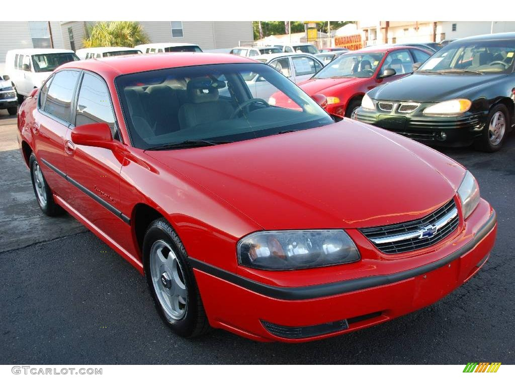 2000 torch red chevrolet impala ls 14842685 car color galleries. Black Bedroom Furniture Sets. Home Design Ideas
