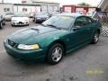 2000 Electric Green Metallic Ford Mustang V6 Coupe  photo #3
