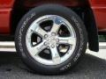 2008 Blaze Red Crystal Pearl Dodge Ram 1500 Laramie Quad Cab 4x4  photo #7