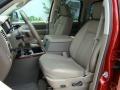2008 Blaze Red Crystal Pearl Dodge Ram 1500 Laramie Quad Cab 4x4  photo #9