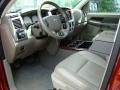 2008 Blaze Red Crystal Pearl Dodge Ram 1500 Laramie Quad Cab 4x4  photo #11