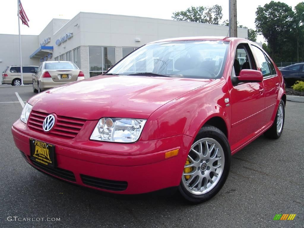 2003 tornado red volkswagen jetta wolfsburg edition 1 8t sedan 14825921 car. Black Bedroom Furniture Sets. Home Design Ideas