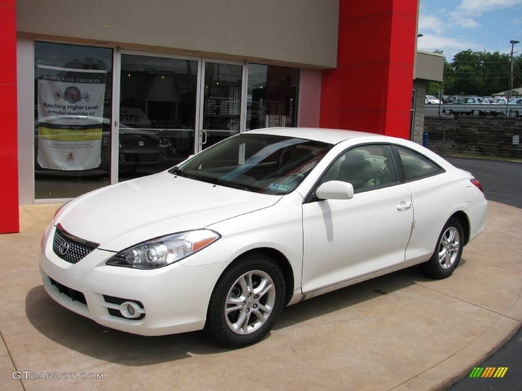 2007 Blizzard White Pearl Toyota Solara Se Coupe 14795829