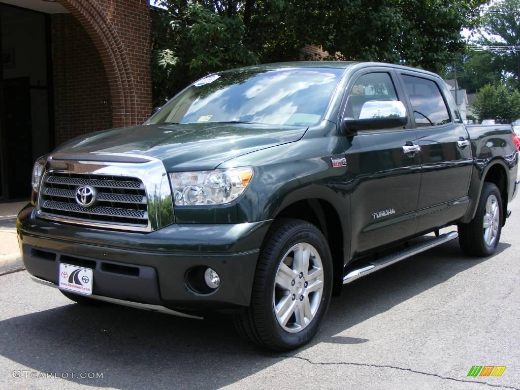2007 timberland mica toyota tundra limited crewmax 4x4 14843722 car color. Black Bedroom Furniture Sets. Home Design Ideas