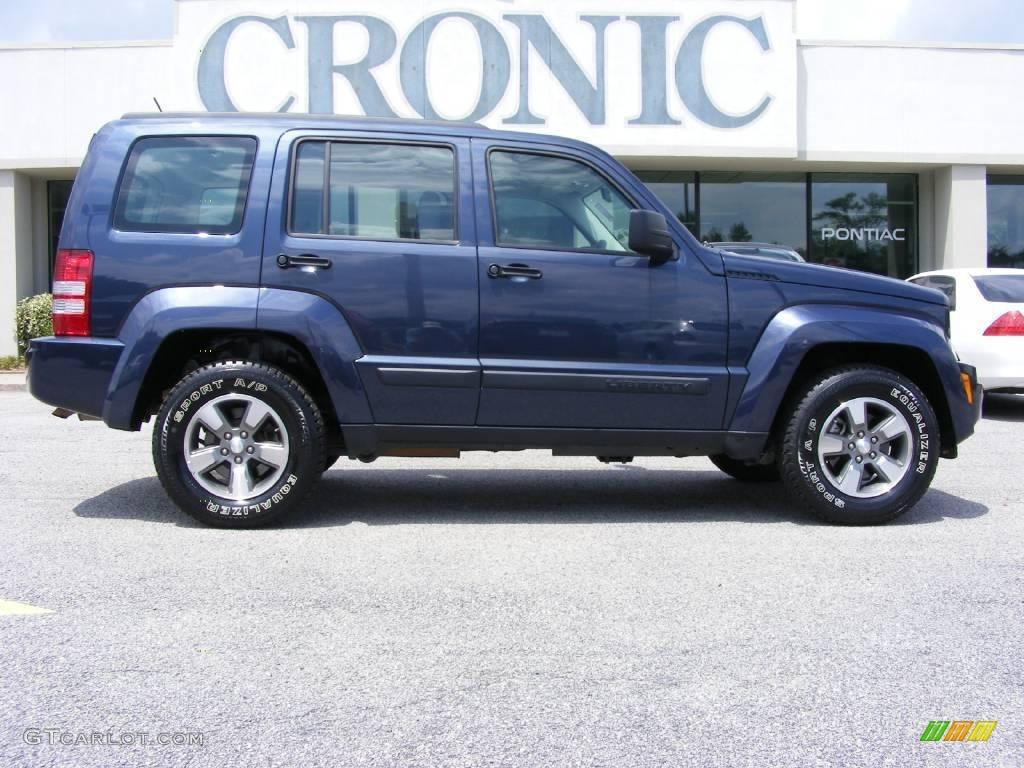 2008 modern blue pearl jeep liberty sport #14791294 | gtcarlot