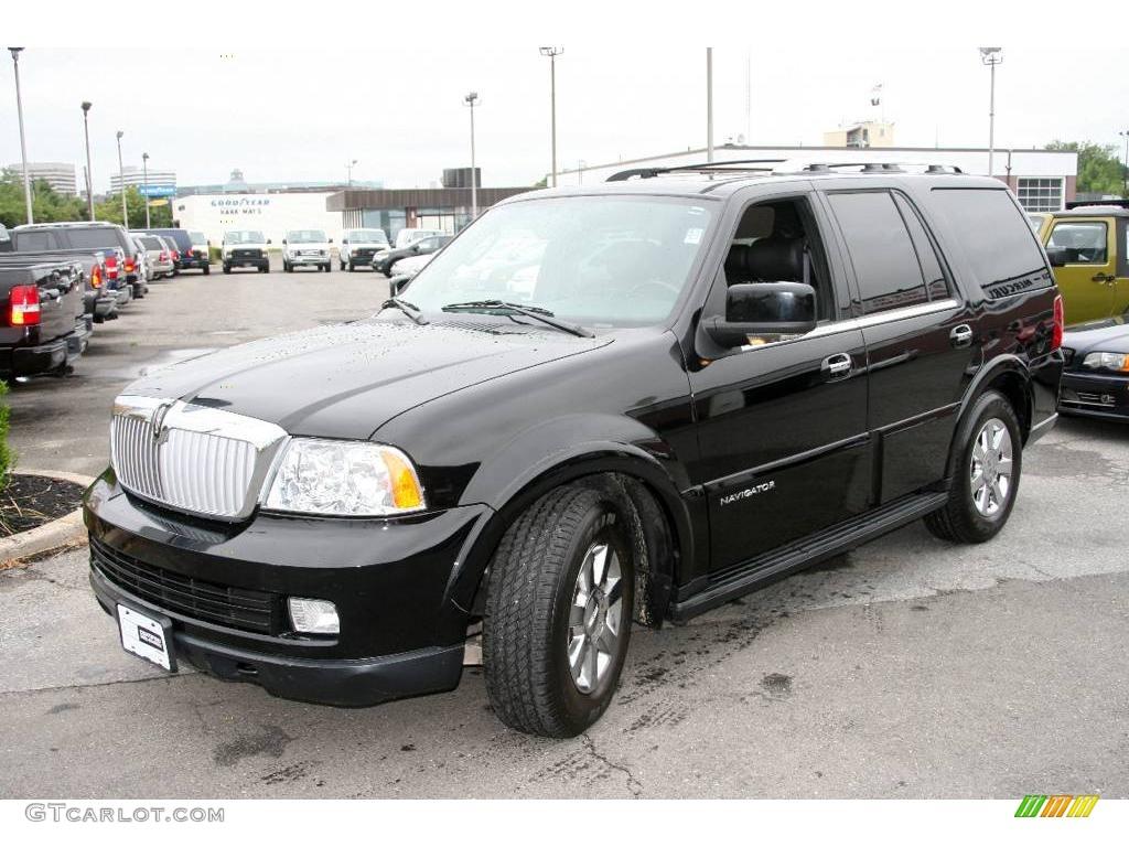 2006 black lincoln navigator luxury 4x4 14778961. Black Bedroom Furniture Sets. Home Design Ideas