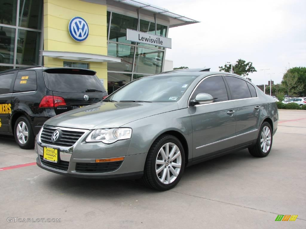 2006 granite green metallic volkswagen passat 2 0t sedan 14842305 car color. Black Bedroom Furniture Sets. Home Design Ideas