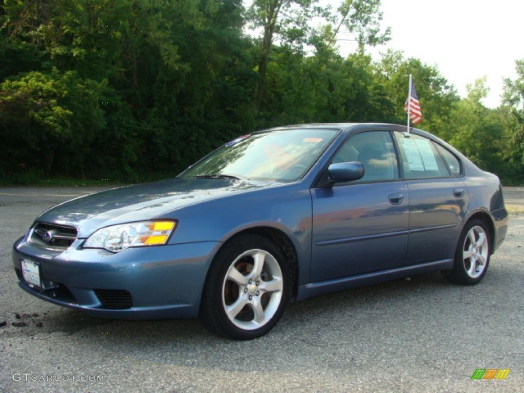 2006 Atlantic Blue Pearl Subaru Legacy 2 5i Special