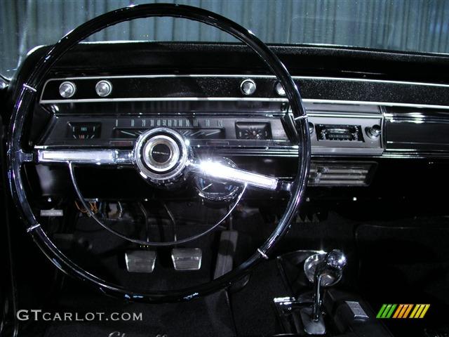 1966 Tuxedo Black Chevrolet Chevelle Ss Convertible 148462 Photo 7 Car Color