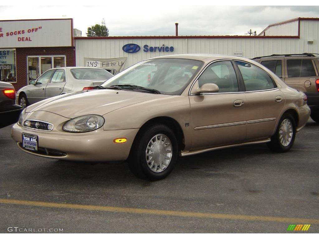 1999 light prairie tan metallic mercury sable ls sedan 14930449 gtcarlot com car color